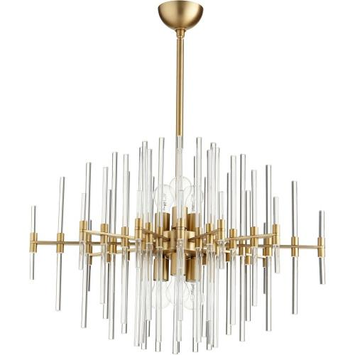 Cyan lighting 09225-QUE Quebec - 30.5 Inch Six Light Pendant