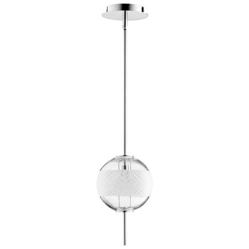 Cyan lighting 10048-PELO Peloton - 11.75 Inch 7W 1 Led Pendant