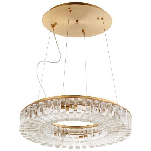 Cyan lighting 09937-KAL Kallick - 23.75 Inch 56W 8 Led Pendant