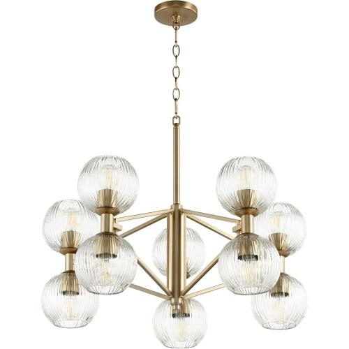 Cyan lighting 1096-10C Helios - 10 Light Chandelier - 28.5 Inches Wide by 13.5 Inches High