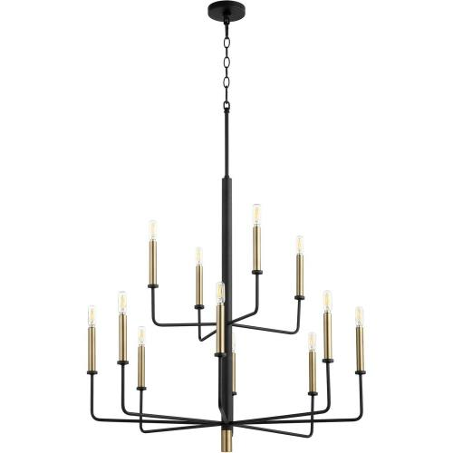 Cyan lighting 10968 Apollo - 12 Light Chandelier - 33 Inches Wide by 33 Inches High