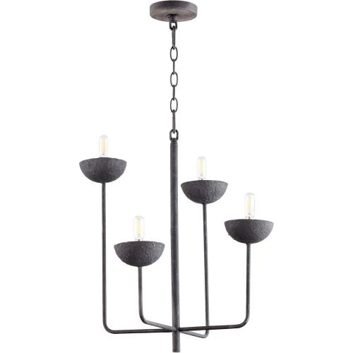 Cyan lighting 10975 Enoki - 4 Light Chandelier - 21 Inches Wide by 19.5 Inches High