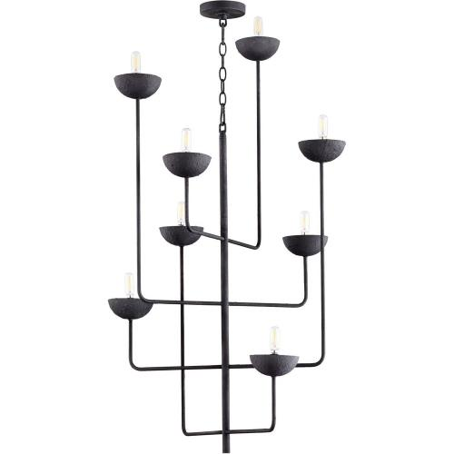 Cyan lighting 10977 Enoki - 8 Light Chandelier - 27 Inches Wide by 43.25 Inches High
