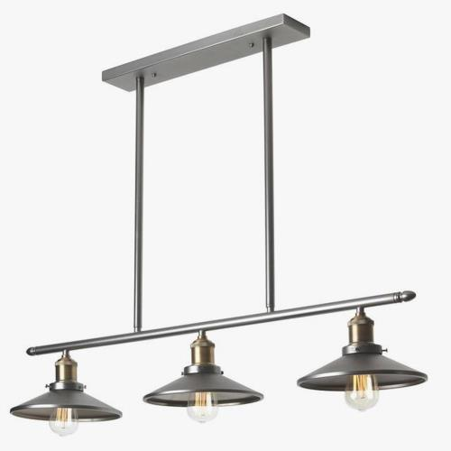 Dainolite 405-343HP-VS Three Light Horizontal Pendant
