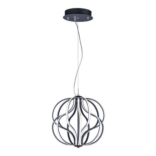 ET2 Lighting E21174 Aura-60W 1 LED Pendant-17 Inches wide by 18 inches high