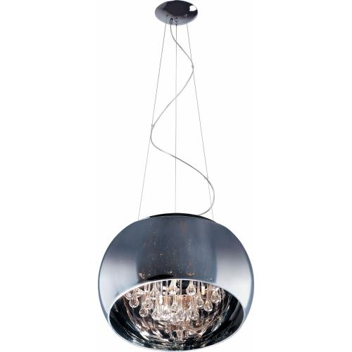 ET2 Lighting E21206-10PC Sense-6 Light Pendant in Contemporary style-19.75 Inches wide by 8.75 inches high