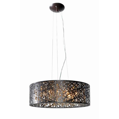 ET2 Lighting E21308 Inca-9 Light Pendant in Contemporary style-23.5 Inches wide by 10 inches high