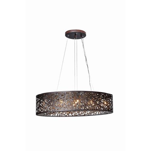ET2 Lighting E21310 Inca-9 Light Pendant in Contemporary style-12 Inches wide by 10 inches high
