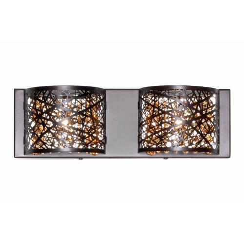 ET2 Lighting E21315 Inca-2 Light Wall Mount in Contemporary style-4.25 Inches wide by 5 inches high