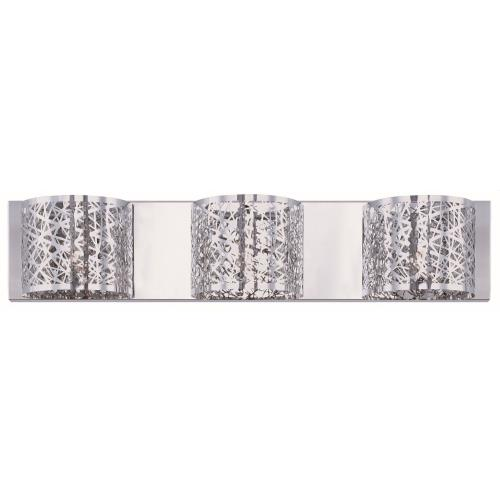 ET2 Lighting E21316-10 Inca-3 Light Wall Mount in Contemporary style-4.25 Inches wide by 5 inches high