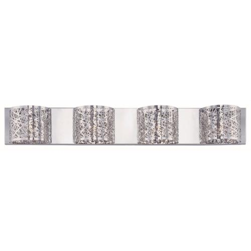 ET2 Lighting E21317-10 Inca-4 Light Wall Mount in Contemporary style-4.25 Inches wide by 5 inches high