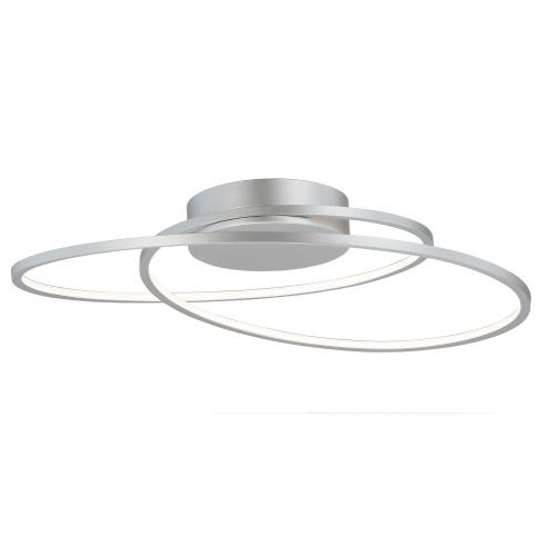 ET2 Lighting E21322 Cycle-75W 1 LED Flush Mount-24.5 Inches wide by 2.75 inches high