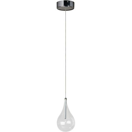 ET2 Lighting E23111 Larmes - 1 Light Pendant - 4.5 Inches wide by 8 inches high