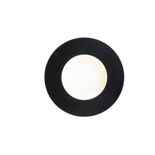 ET2 Lighting E23170-BKWT Orbital - 8.25 Inch 14.4W 1 LED Wall Sconce