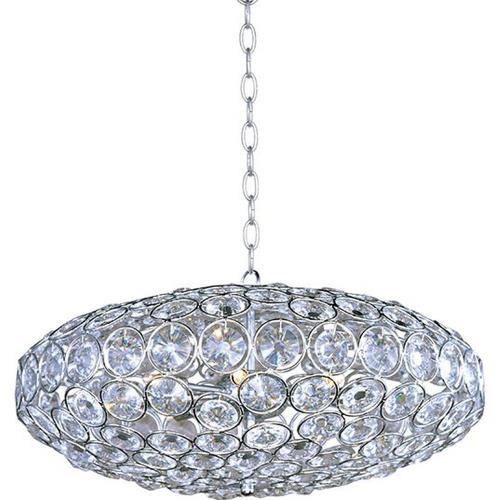 ET2 Lighting E24012-20PC Brilliant - Eight Light Pendant
