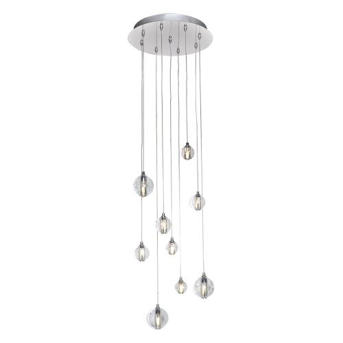 ET2 Lighting E24506-91PC Harmony - 13.5W 9 LED Pendant - 12.75 Inches wide by 3.75 inches high