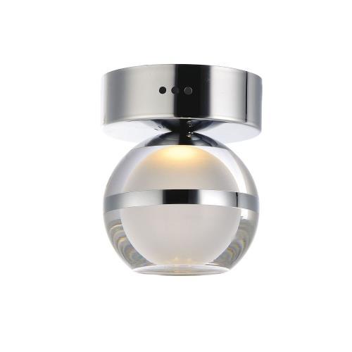 ET2 Lighting E24590 Swank - 6 Inch 6W 1 LED Flush/Wall Mount