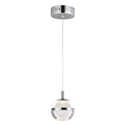 ET2 Lighting E24591 Swank - 6W 1 LED Pendant - 4.5 Inches wide by 5.5 inches high