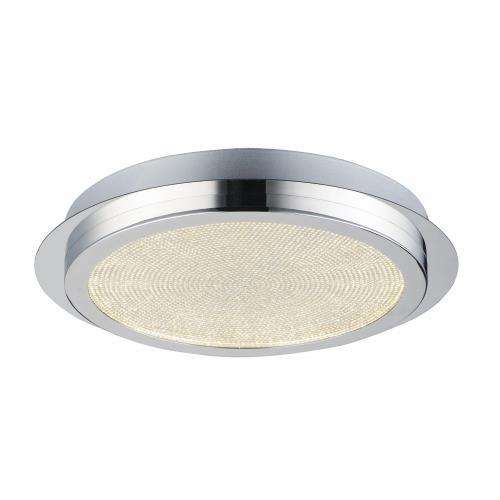 ET2 Lighting E24600-122PC Sparkler - 13.75 Inch 25.6W 1 LED Flush Mount