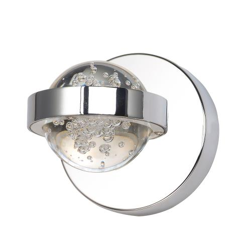 ET2 Lighting E30611-91PC Cosmo - 4.5W 1 LED Wall sconce - 4.75 Inches wide by 4.75 inches high