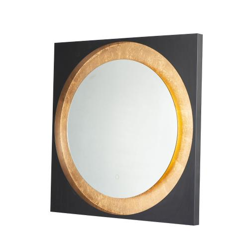 ET2 Lighting E42040 Floating - 28W 1 LED Square Mirror in Builder style - 31.5 Inches wide by 31.5 inches high