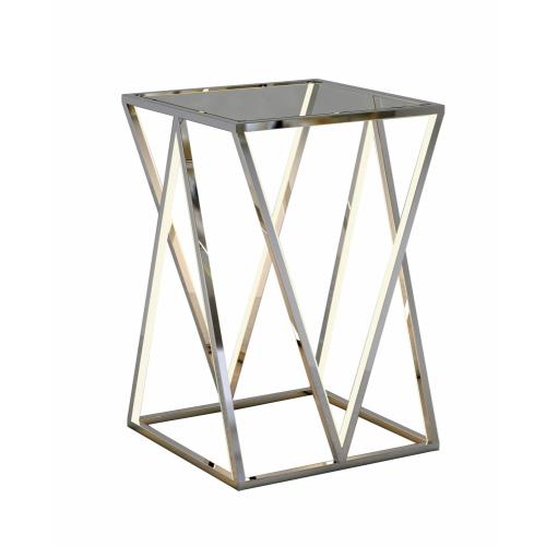 "ET2 Lighting E71000-PC Victory - 23.5"" 96W 4 LED Accent Table"