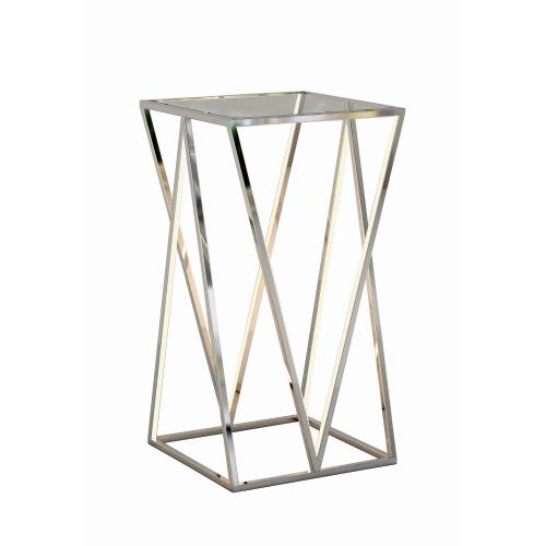 ET2 Lighting E71001-PC Victory 4 Light Accent Table Stainless Steel Base