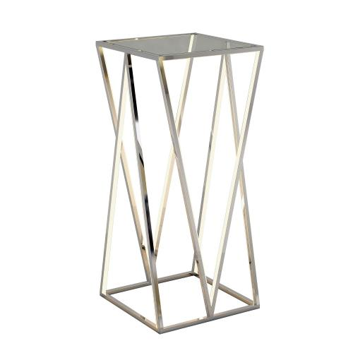 ET2 Lighting E71003-PC Victory 4 Light Accent Table Stainless Steel Base