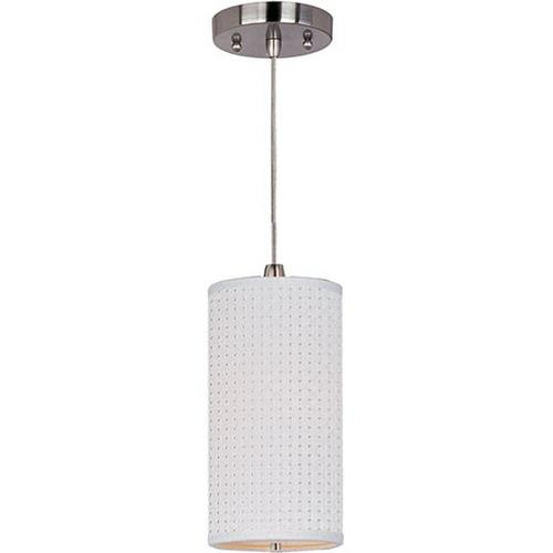 ET2 Lighting E95030-100SN Elements - One Light Mini-Pendant with Cord