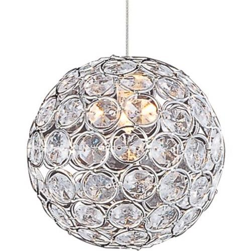 ET2 Lighting EP96077-20PC Brilliant - One Light RapidJack Pendant