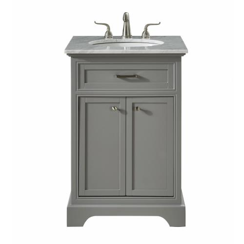 "Elegant Lighting VF15024 Americana - 24"" Single Bathroom Vanity Set"