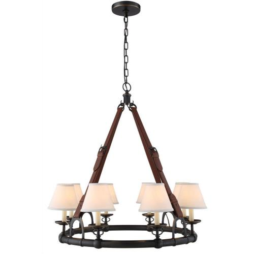 Elegant Lighting 1473D33 Cascade - Eight Light Pendant