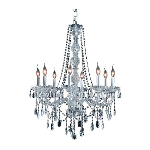 Elegant Lighting 7958D28 Verona - Eight Light Chandelier