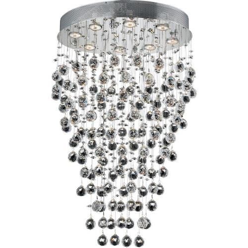 Elegant Lighting V2022D24 Galaxy - Eight Light Chandelier