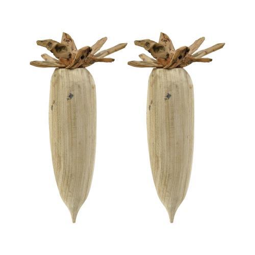 Elk-Home 015410/S2 Pinehurst - 15 Inch Seed Pod (Set of 2)