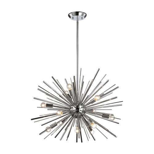Elk-Home 1140-4 Starburst - Twelve Light Pendant