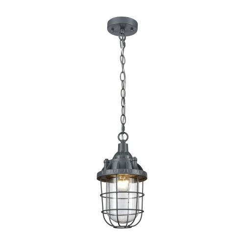 Elk-Home 1223-004 Steel Trap - One Light Pendant