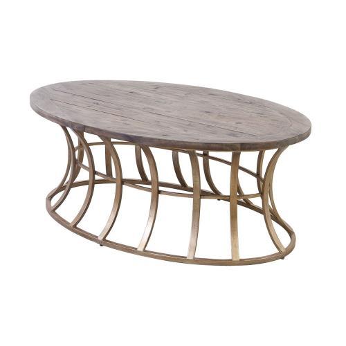 Elk-Home 164-007 Meditation - 52 Inch Coffee Table