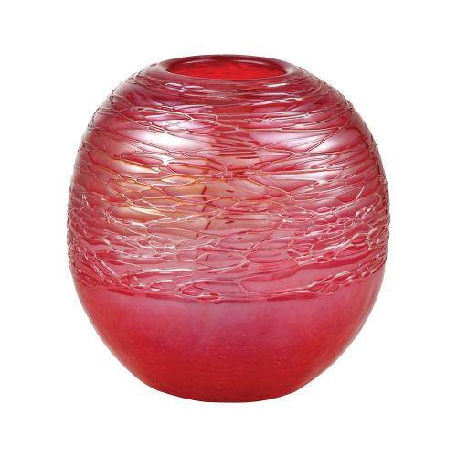 Elk-Home 201585 Cerise - 7 Inch Ball Vase