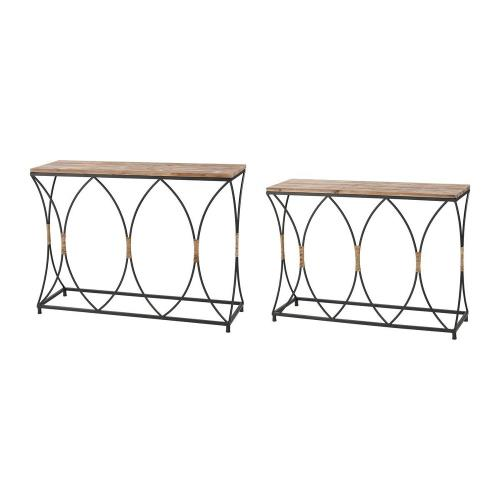 Elk-Home 3200-257/S2 Fisher Island - 42 Inch Console Table (Set of 2)