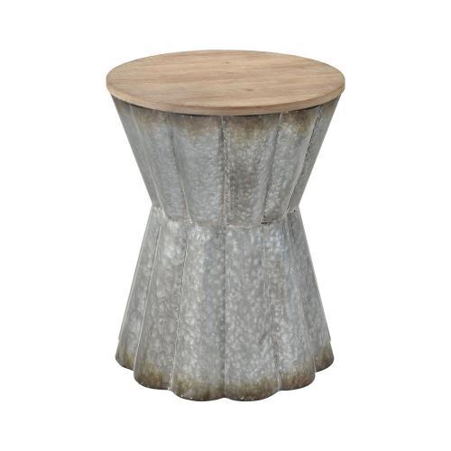 Elk-Home 351-10730 Crinkle - 20 Inch Side Table
