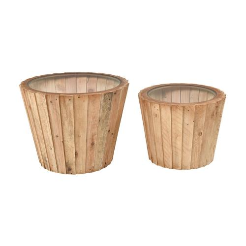 Elk-Home 351-10738/S2 Aviation - 25 Inch Accent Table (Set of 2)