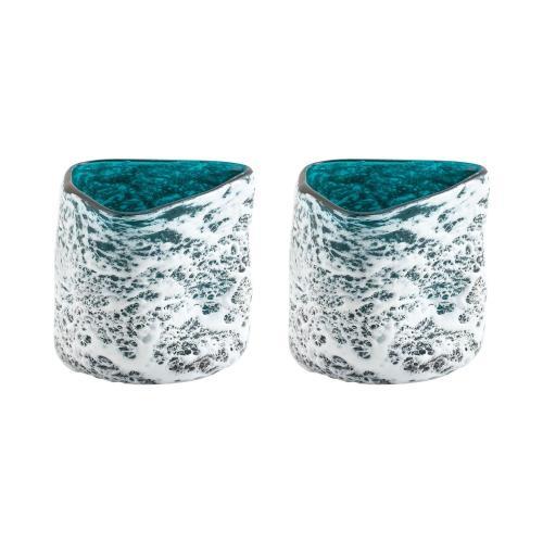 Elk-Home 406898/S2 Lagoon - 4.75 Inch Vases (Set of 2)