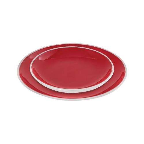 Elk-Home 626791 Cerise - 7.75 Inch Plates (Set of 2)