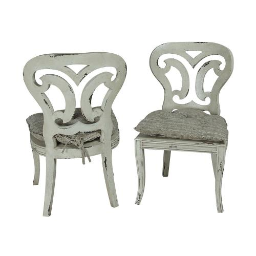 Elk-Home 69P Artifacts - 39 Inch Side Chair (Set of 2)