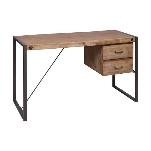 Elk-Home 76352 Armour Square - 63 Inch 2-Drawer Desk