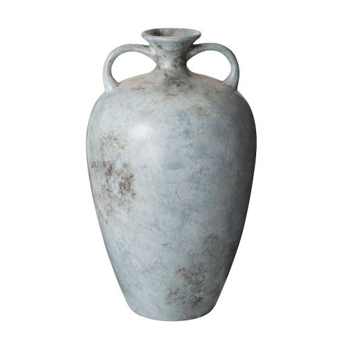Elk-Home 857088 Mottled - Transitional Style w/ ModernFarmhouse inspirations - Earthenware Mottled Starling Vase - 20 Inches tall 12 Inches wide