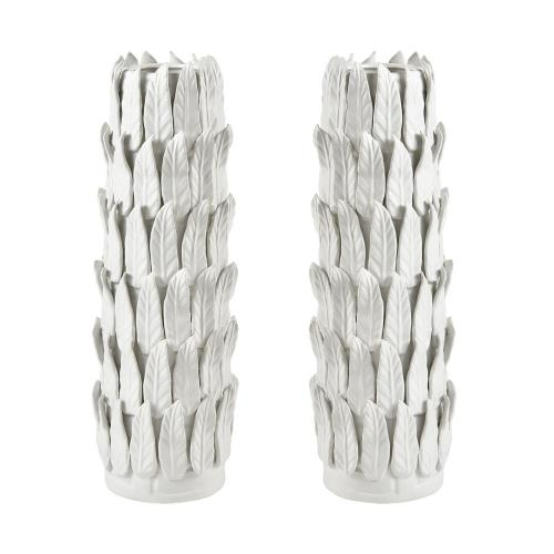 Elk-Home 9167-080/S2 Sargent - Modern/Contemporary Style w/ Luxe/Glam inspirations - Earthenware Vase (Set of 2) - 21 Inches tall 7 Inches wide