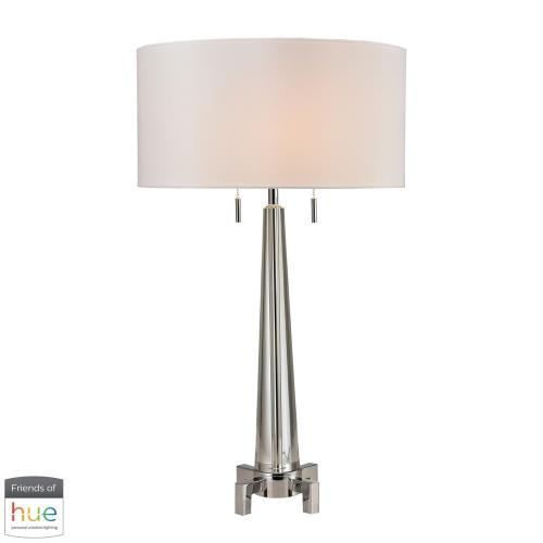 Elk-Home D268-HUE-D Bedford - 30 Inch 60W 2 LED Table Lamp with Philips Hue LED Bulb/Dimmer