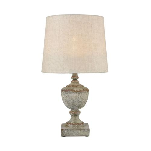 Elk-Home D4389 Regus - Transitional Style w/ ModernFarmhouse inspirations - Composite 1 Light Outdoor Table Lamp - 24 Inches tall 13 Inches wide